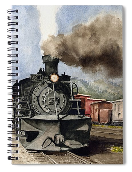 Chama Arrival Spiral Notebook