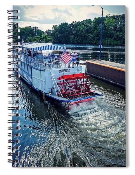 Champlain Canal Patriot Spiral Notebook
