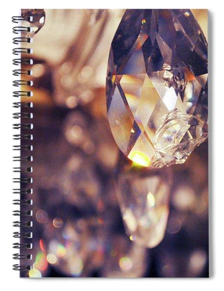 Chandelier Spiral Notebook