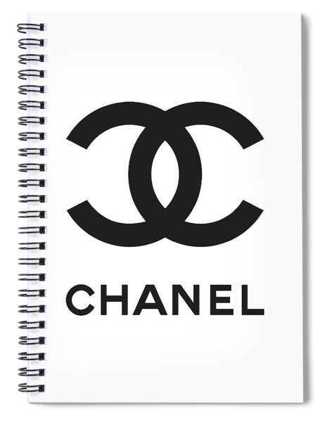 Chanel - Black And White 04 - Lifestyle And Fashion Spiral Notebook