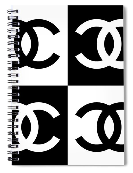 Chanel Design-5 Spiral Notebook