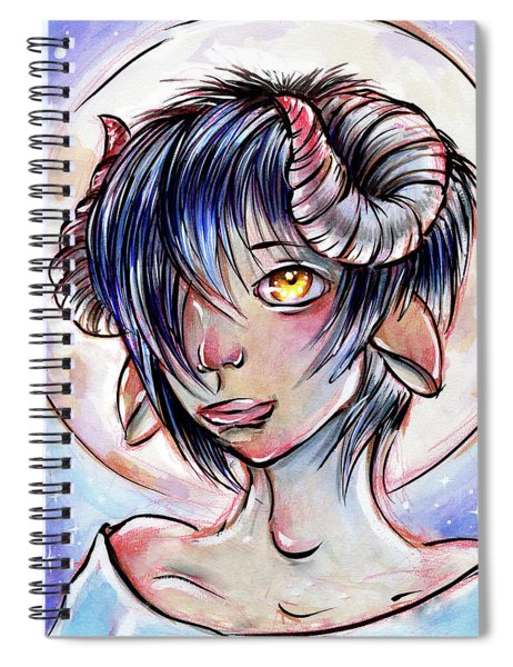Changeling Moon Spiral Notebook