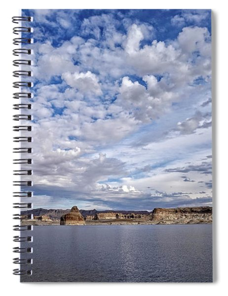 Changing Skies Spiral Notebook