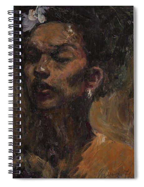 Chanteuse Spiral Notebook