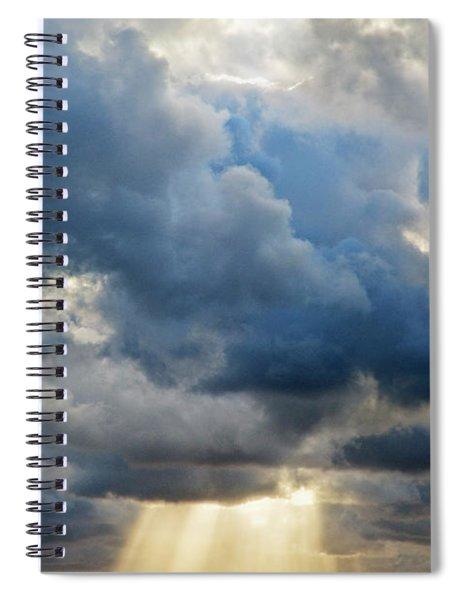 Celestial Light Spiral Notebook