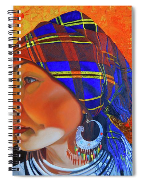 Chaos And Order Spiral Notebook