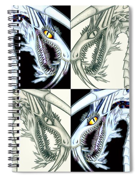 Chaos Dragon Fact Vs Fiction Spiral Notebook