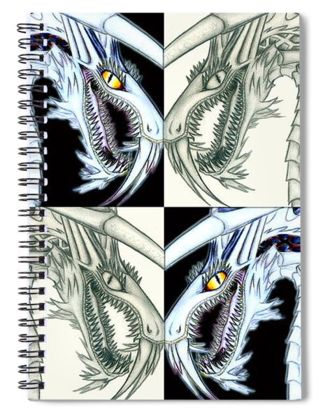 Chaos Dragon Fact Vs Fiction Spiral Notebook