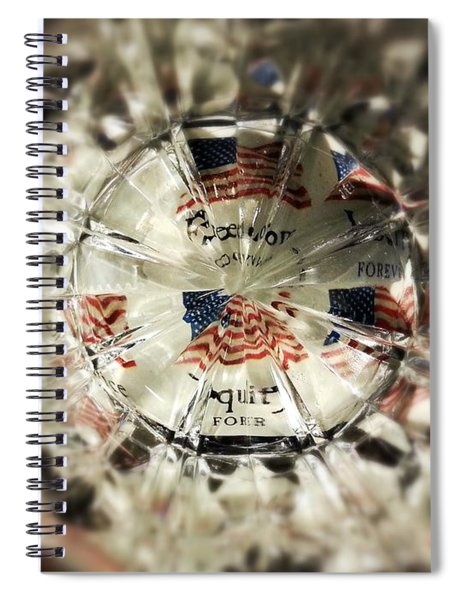 Chaotic Freedom Spiral Notebook