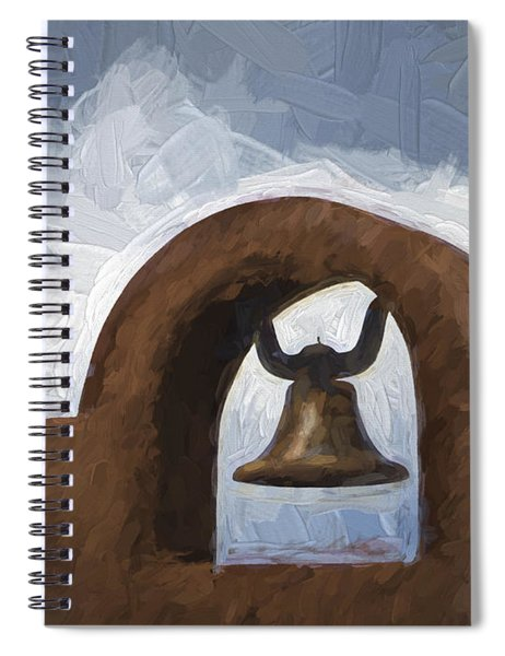 Chapel Bell Chimayo Painterly Effect Spiral Notebook