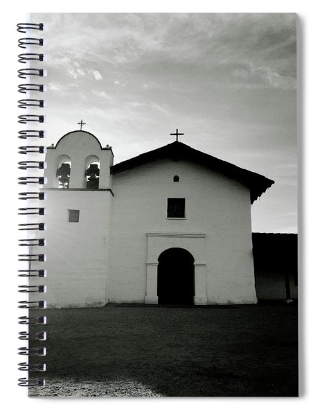 Chapel In The Shadows- Art By Linda Woods Spiral Notebook