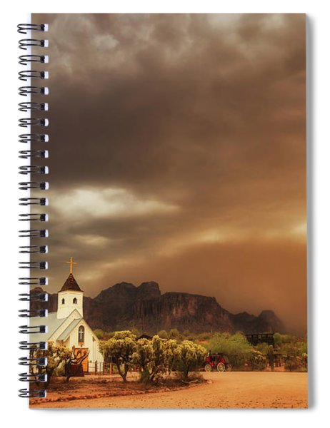 Chapel In The Storm Spiral Notebook