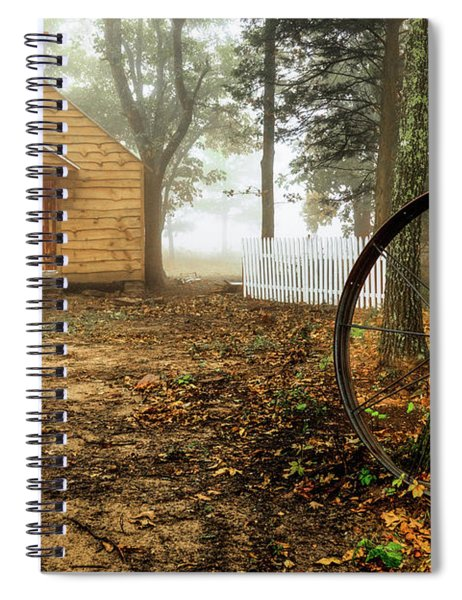 Chapel In The Woods 1 Spiral Notebook