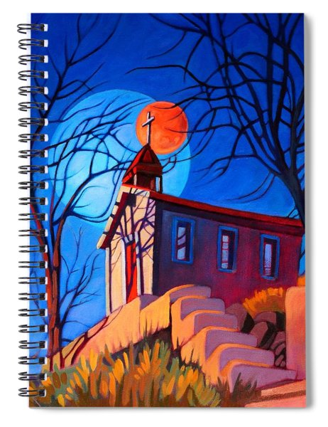 Chapel On The Hill Spiral Notebook
