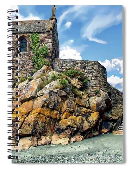Chapel Saint-aubert Spiral Notebook