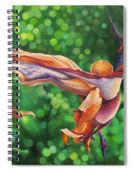 Character Lines Spiral Notebook
