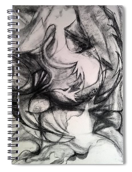 Charcoal Study Spiral Notebook
