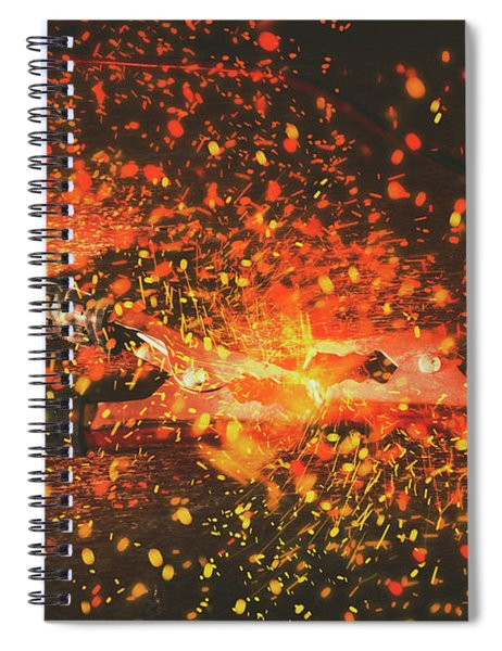 Charged Up Workshop Art Spiral Notebook