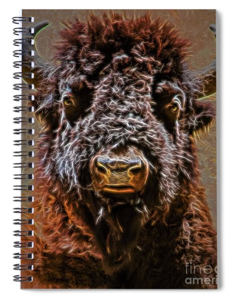Charging Bison Spiral Notebook