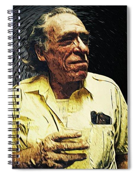 Charles Bukowski Spiral Notebook