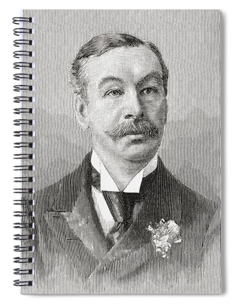 Charles Thomson Ritchie, 1st Baron Spiral Notebook