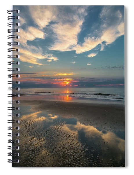 Charleston Coast Sunrise Spiral Notebook