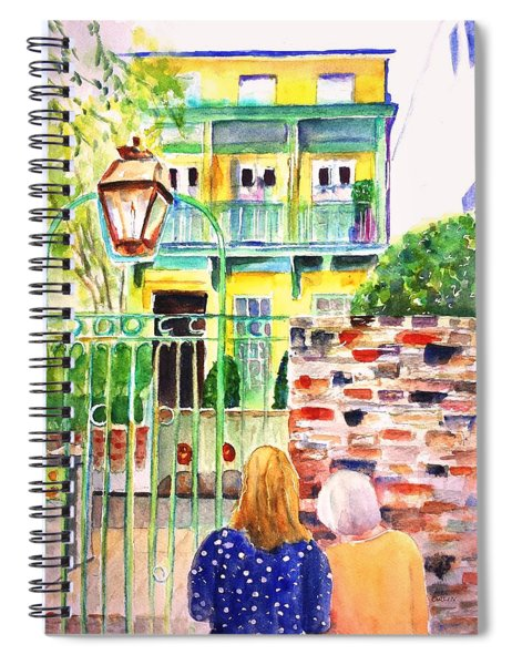 Charleston South Carolina Single House Spiral Notebook