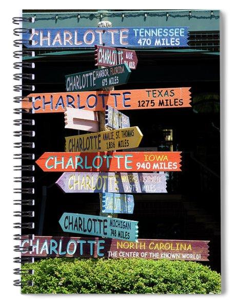 Charlotte Signs Spiral Notebook