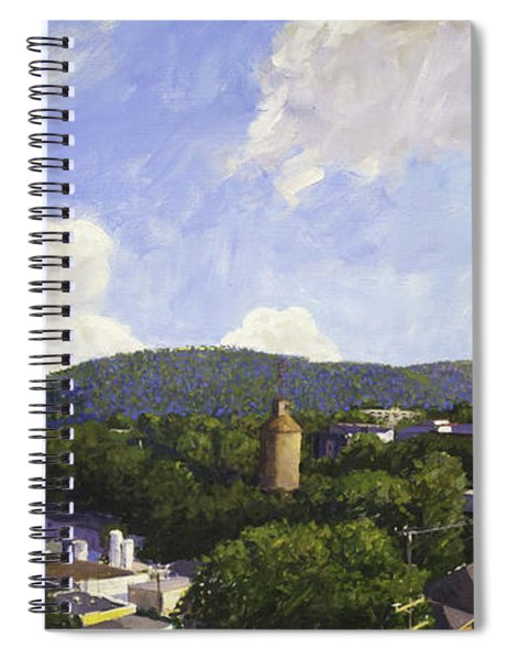 Charlottesville Looking East Spiral Notebook