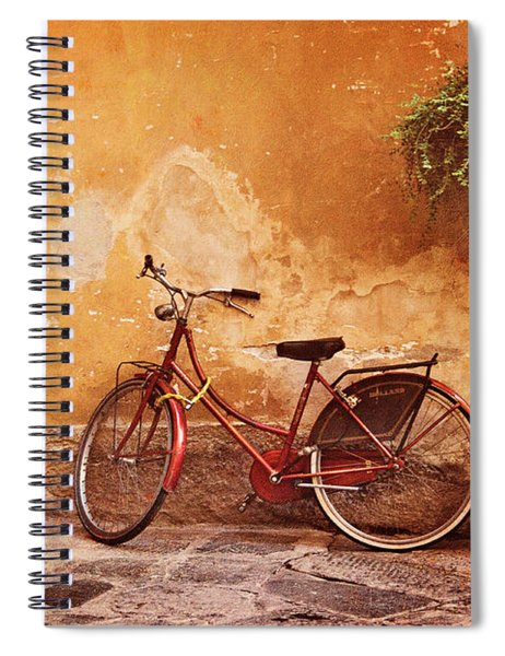Charming Lucca Spiral Notebook