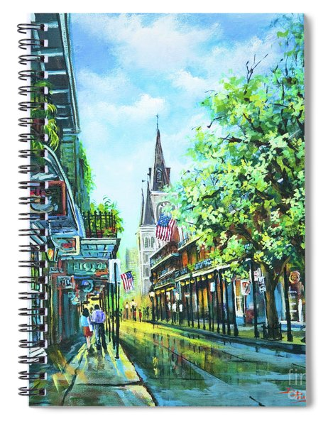 Chartres Afternoon Spiral Notebook
