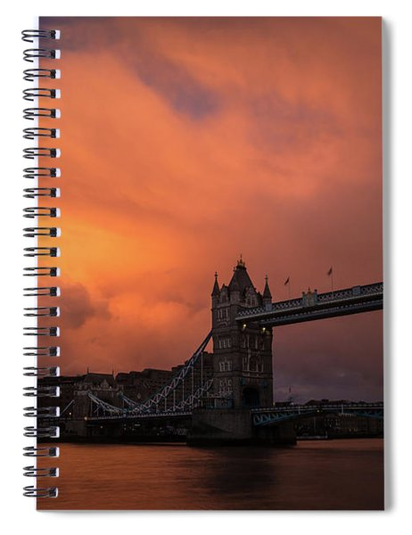 Chasing Clouds Spiral Notebook