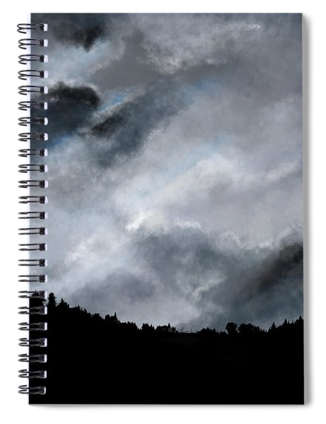 Chasing The Storm Spiral Notebook
