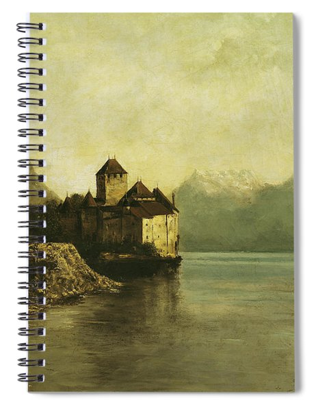 Chateau De Chillon Spiral Notebook