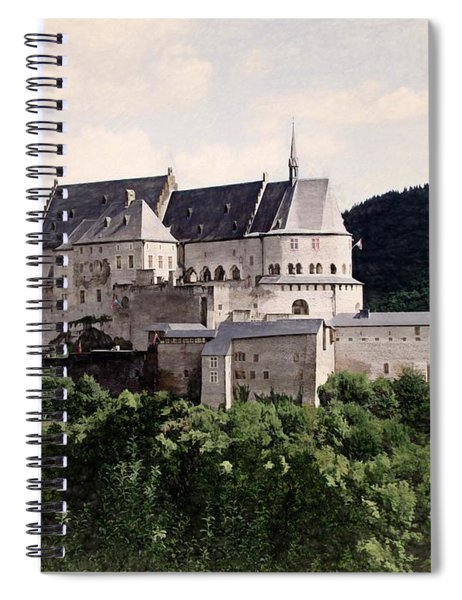 Chateau Vianden - Luxembourg Spiral Notebook