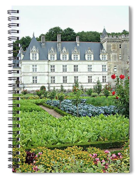 Chateau Villandry - Loire Valley, France Spiral Notebook