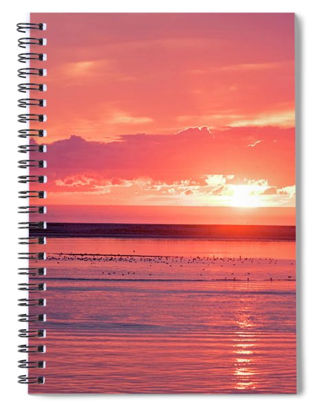 Chatham Ma Cape Cod Sunrise Spiral Notebook