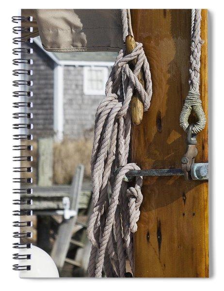 Chatham Old Salt Varnished Mast Spiral Notebook