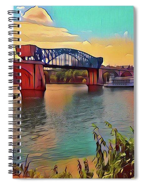 Chatta Choo Choo Spiral Notebook