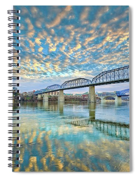 Chattanooga Has Crazy Clouds Spiral Notebook