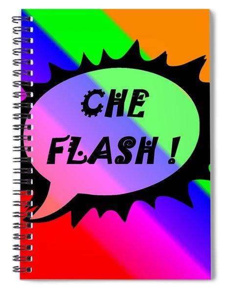 Che Flash Spiral Notebook