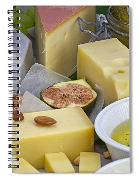 Cheese Plate Spiral Notebook