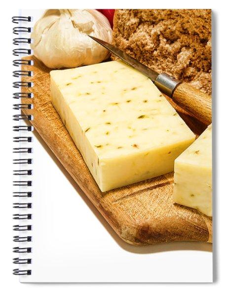 Cheese Snack Spiral Notebook