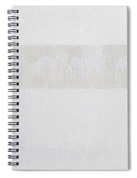 Cheetah And Zebras Spiral Notebook
