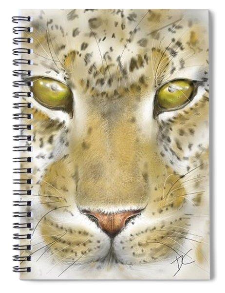 Cheetah Face Spiral Notebook