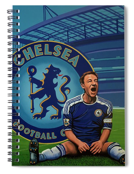 Chelsea London Painting Spiral Notebook