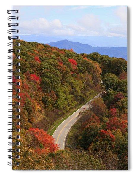 Cherohala Skyway In Nc Spiral Notebook