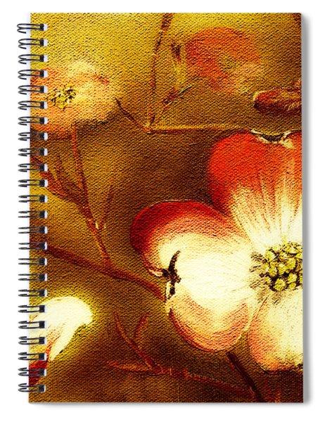 Cherokee Rose Dogwood - Glow Spiral Notebook