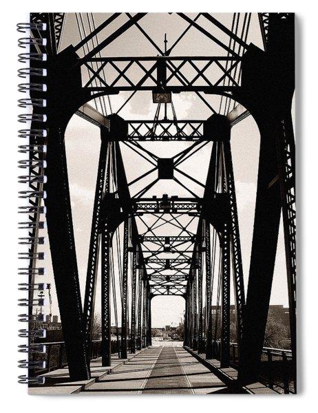 Cherry Avenue Bridge Spiral Notebook