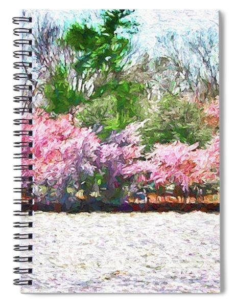 Cherry Blossom Day Spiral Notebook